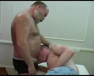 old bear daddy fuck young blonde
