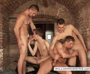 4-some group sex - part 2