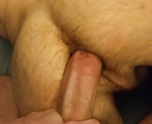 Diving my cock into a twink