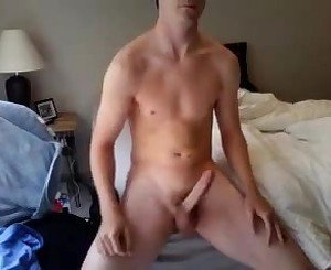Cute Athletic Boy Long Hard Cock