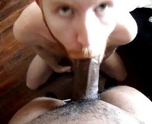 Twink BBC sucker takes the load