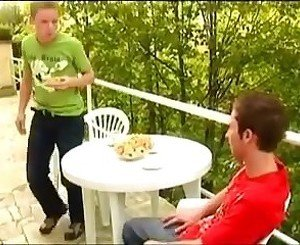 Cute Guys Outdoor Fuck