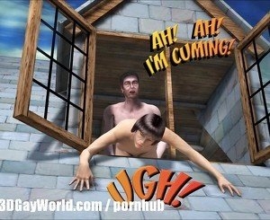 ROOM FOR RENT 3D Gay Animated