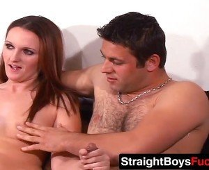 Sexy babe loves sucking two fat