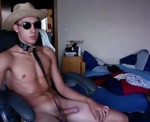 German Slave Boy With Big Cock And