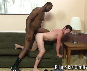 Chase Young Taking A Black Cock