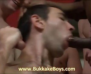 Handsome guy sucking dicks