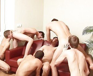 Gangbang Twinks Bareback and