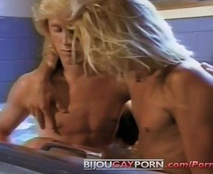 Cute Young Blonde Guys Fool Around