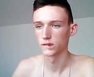 Serbian cute boy with big cock